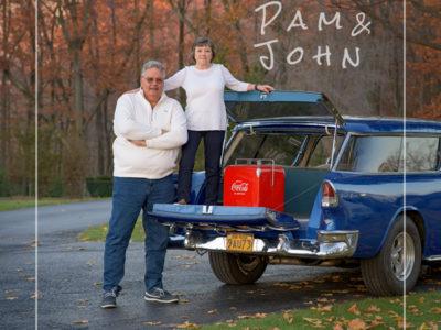 Pam & John